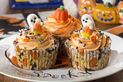 Ghoulishly Good Cupcakes