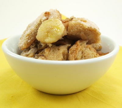 Heavenly Banana Bread Pudding