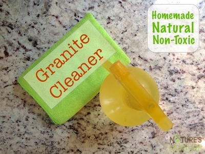 Homemade Granite Cleaner