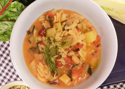 Autumnal Minestrone Soup