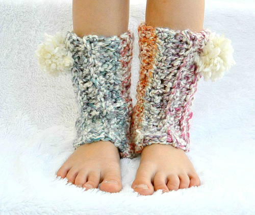 Snow Flurry Leg Warmers