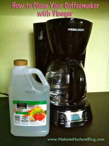 Cleaning Electric Coffee Maker With Vinegar : How to Clean a Coffee Maker DIYIdeaCenter.com