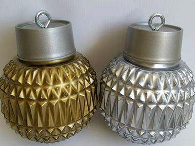 Thrifty Light Fixture Ornaments