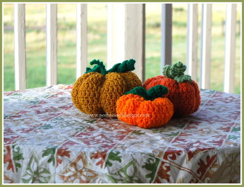 3 Little Pumpkins Stiffies