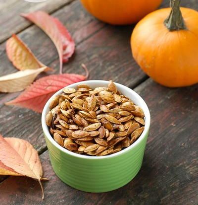 The Best Ever Roasted Pumpkin Seeds