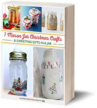 7 Mason Jar Christmas Crafts & Christmas Gifts in a Jar eBook