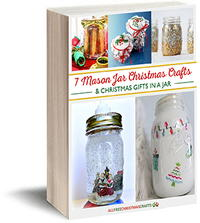 7 Mason Jar Christmas Crafts & Christmas Gifts in a Jar