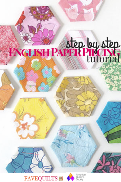 Step by step english paper piecing tutorial favequilts use your new paper piecing skills on this adorable tree skirt pattern brought to you by aqs the hexie tree skirt pattern comes with three color scheme pronofoot35fo Image collections