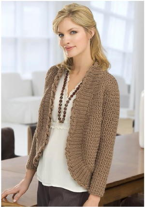 Reading Room Crochet Sweater