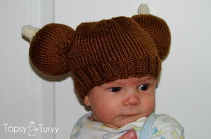 Thanksgiving Turkey Knit Baby Hat