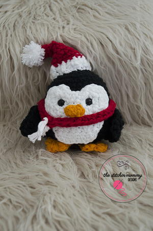 Stuffy The Christmas Penguin