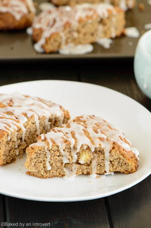 Fabulous Apple Cinnamon Scones