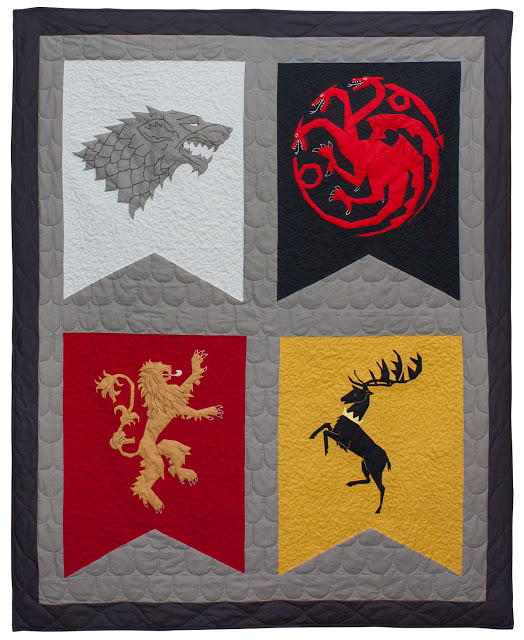 Epic Game of Thrones Quilt