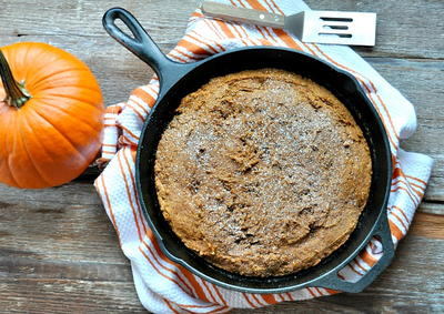2-Ingredient Pumpkin Gingerbread