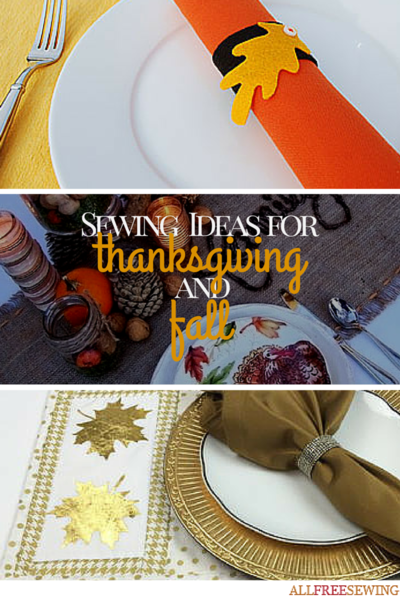 Sewing Ideas for Thanksgiving