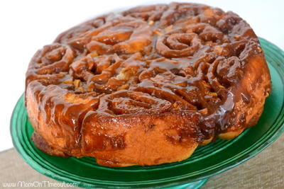 Best Caramel Apple Sticky Buns