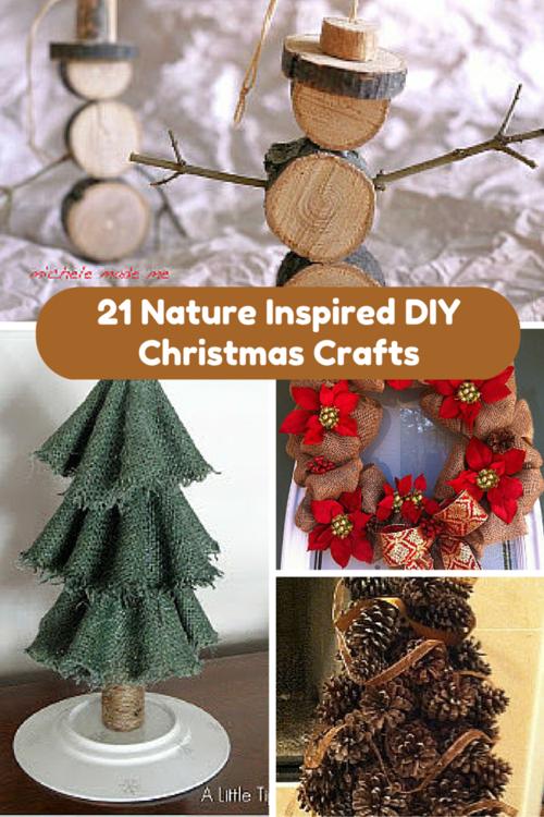 21 nature inspired diy christmas crafts allfreechristmascrafts com