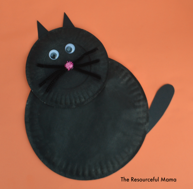 Black Cats Plate