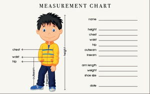 photo regarding Printable Body Measurement Chart for Sewing referred to as How in direction of Consider Overall body Dimensions