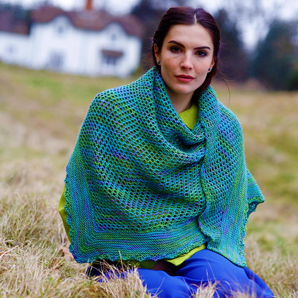 All Free Patterns Knitting : Madison Free Shawl Knitting Pattern AllFreeKnitting.com