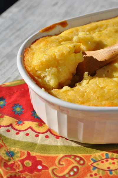 4-Ingredient, 4-Minute Corn Pudding
