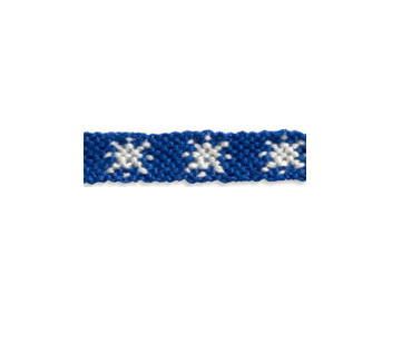 Snowflake Friendship Bracelet Pattern