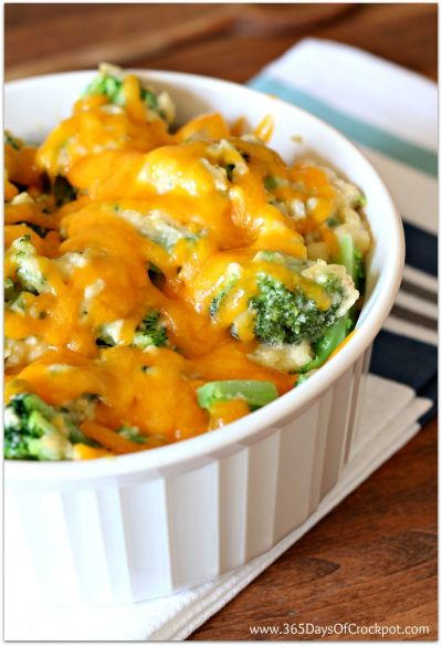 Slow Cooker Cheesy Chicken Broccoli and Rice