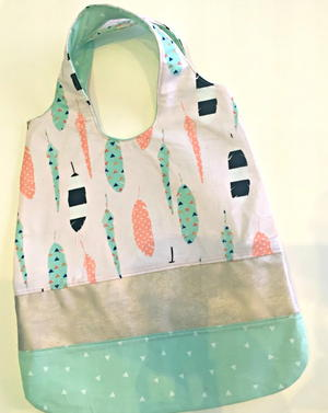 Mixed-Up Market Bag Sewing Pattern