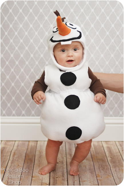 Olaf Baby Halloween Costume Allfreesewing Com