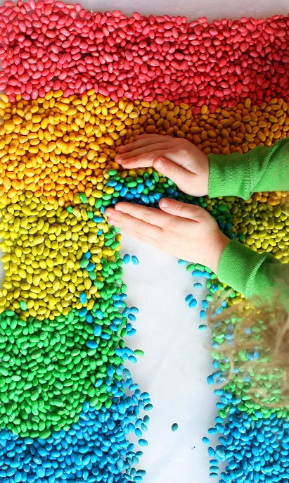 How to Dye Beans