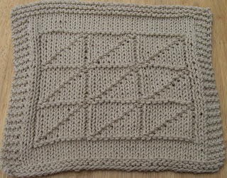 Nice and Neutral Knit Dishcloth Pattern