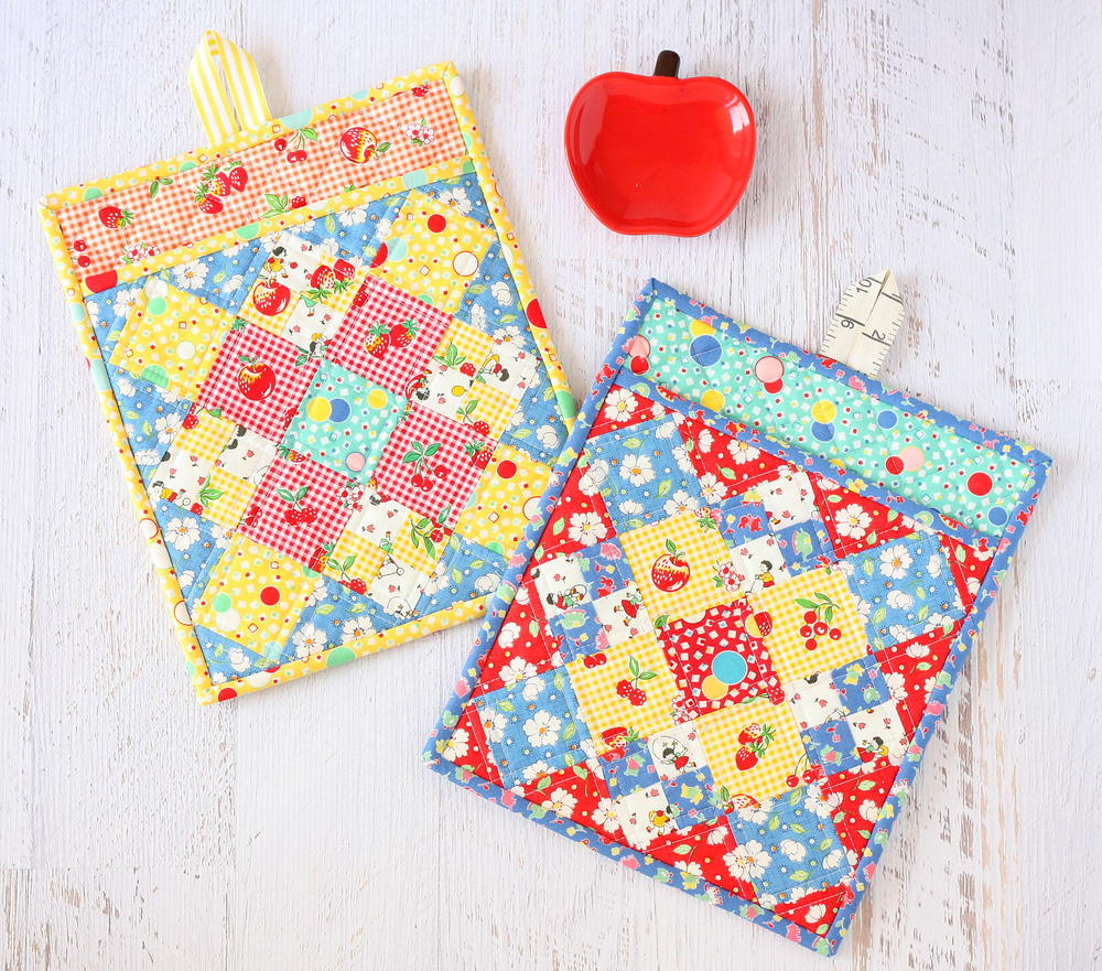Fiesta Pot Holder Pattern AllFreeSewingcom