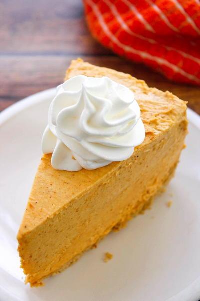 No Bake Pumpkin Pie Cheesecake