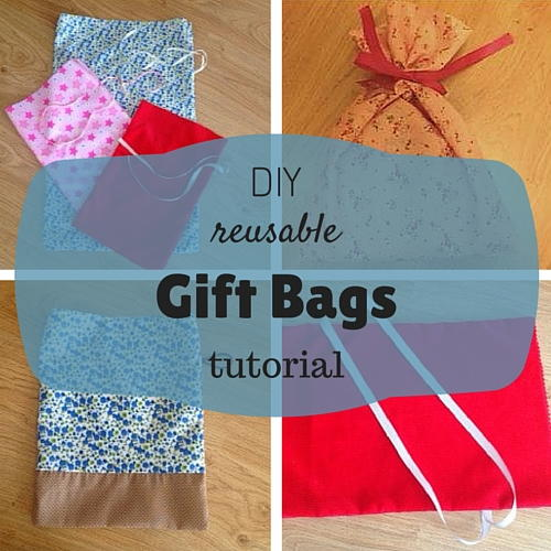 Reusable Diy Gift Bags Allfreesewing Com