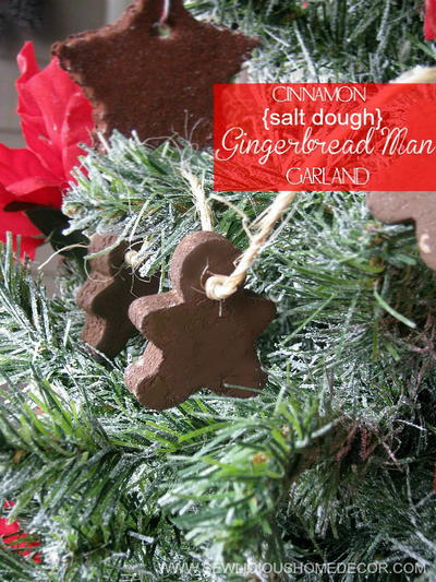 Cinnamon Gingerbread Man Ornaments