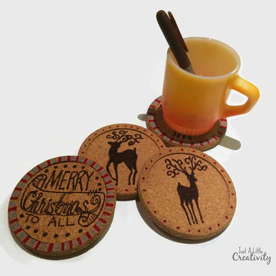 DIY Decorative Coasters
