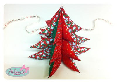 3D Christmas Tree Ornaments