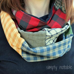 Scrappy Infinity Scarf