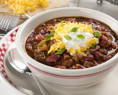 Cafeteria Style Chili