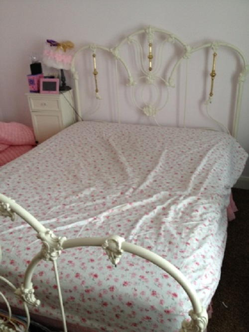 Make Fitted Sheet Queen Size Bed