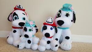 DIY Crochet Amigurumi Puppy Dog Stuffed Toy Free Patterns | Crochê ... | 169x300