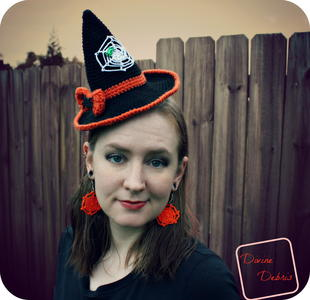 Winifred Crochet Witch Hat