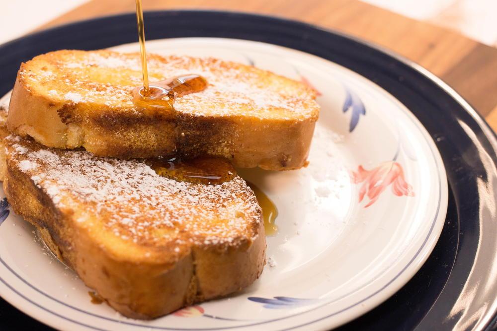 Make Ahead Baked Eggnog French Toast | RecipeLion.com