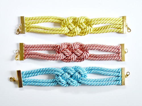 Knotted Cord Bracelet