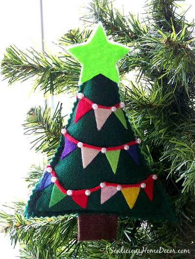 Easy Felt Christmas Tree