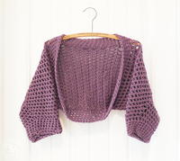 25 Free Crochet Shrug Patterns