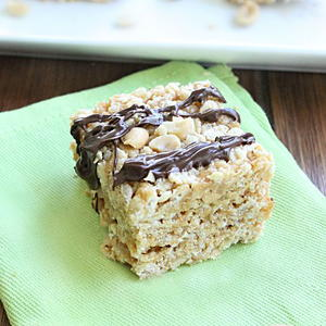 Salted Peanut Honey Bars