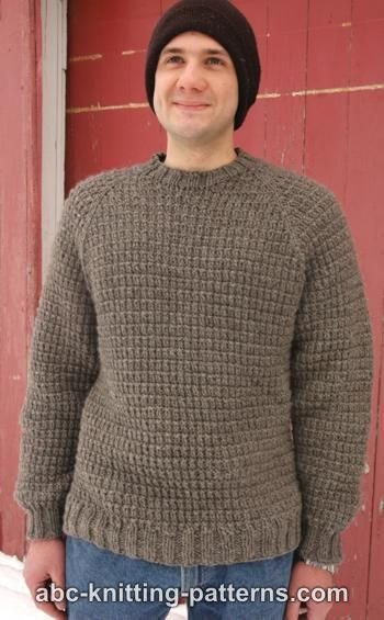 Mens Raglan Woodsy Sweater