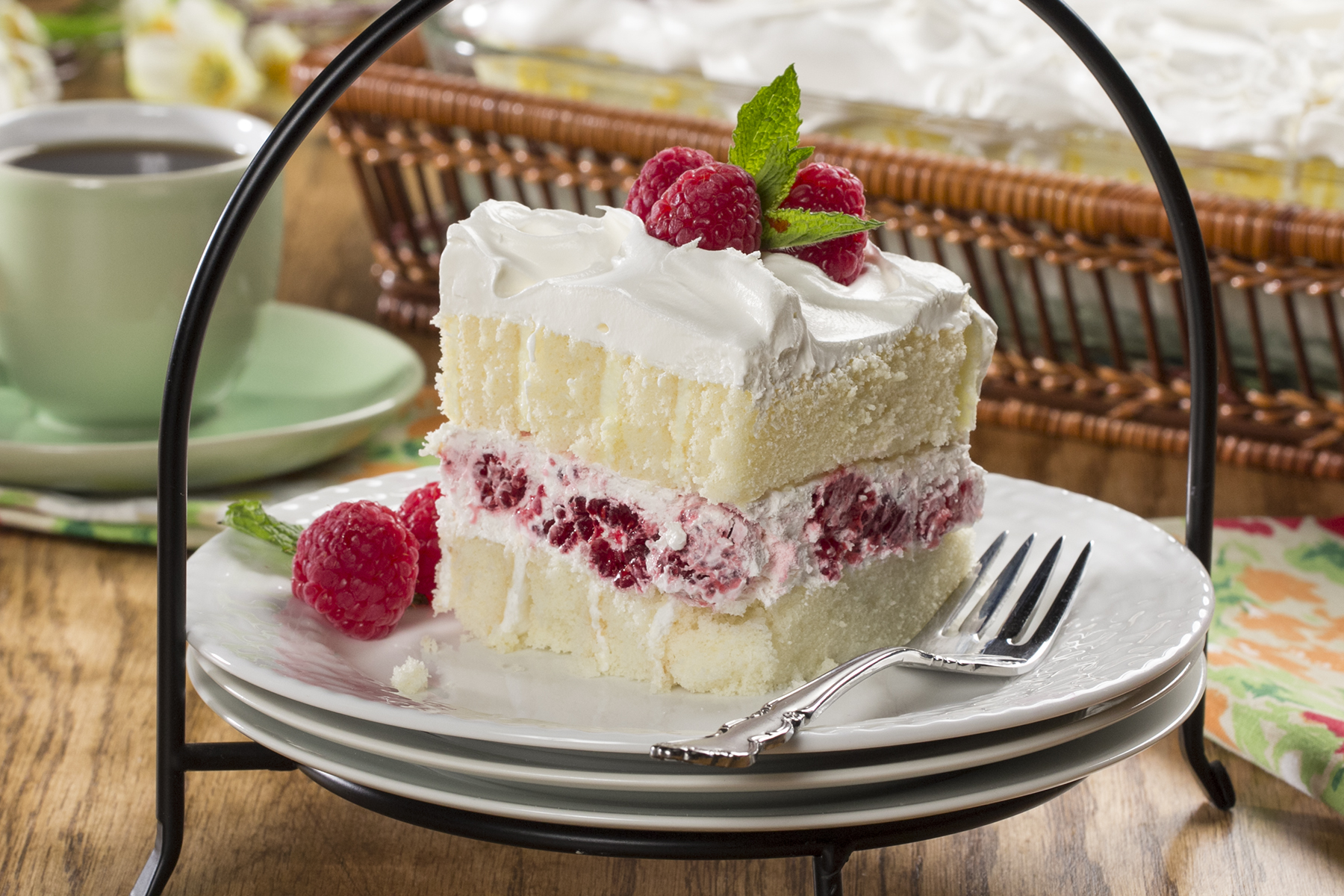 dessert recipes using thick cream 2-2-2-Spring-Fling-Layered-Cake.wmv