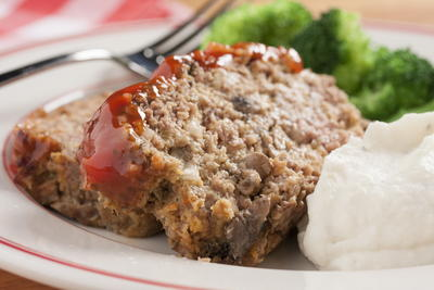 Sweet and Spicy Meat Loaf